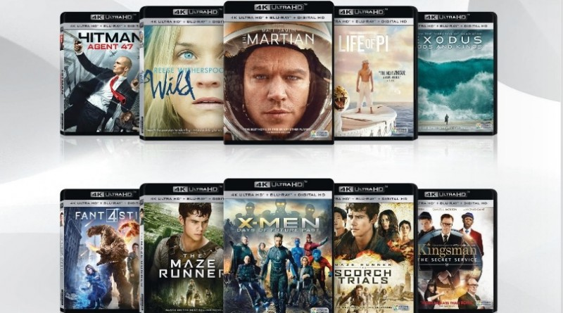 Disques Blu-Ray UHD